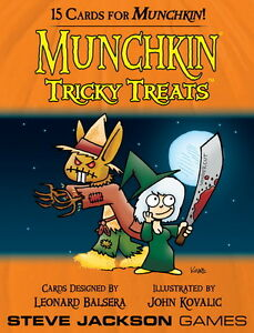 Munchkin-Expansion-Tricky-Treats-Booster-Pack-Steve-Jackson-Games-New