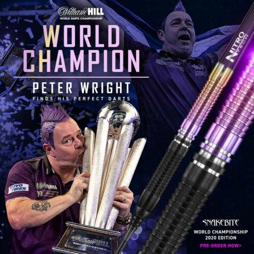 REDDRAGON Darts Softdarts Pfeile Peter Wright Snakebite WM World Champion 20 gr