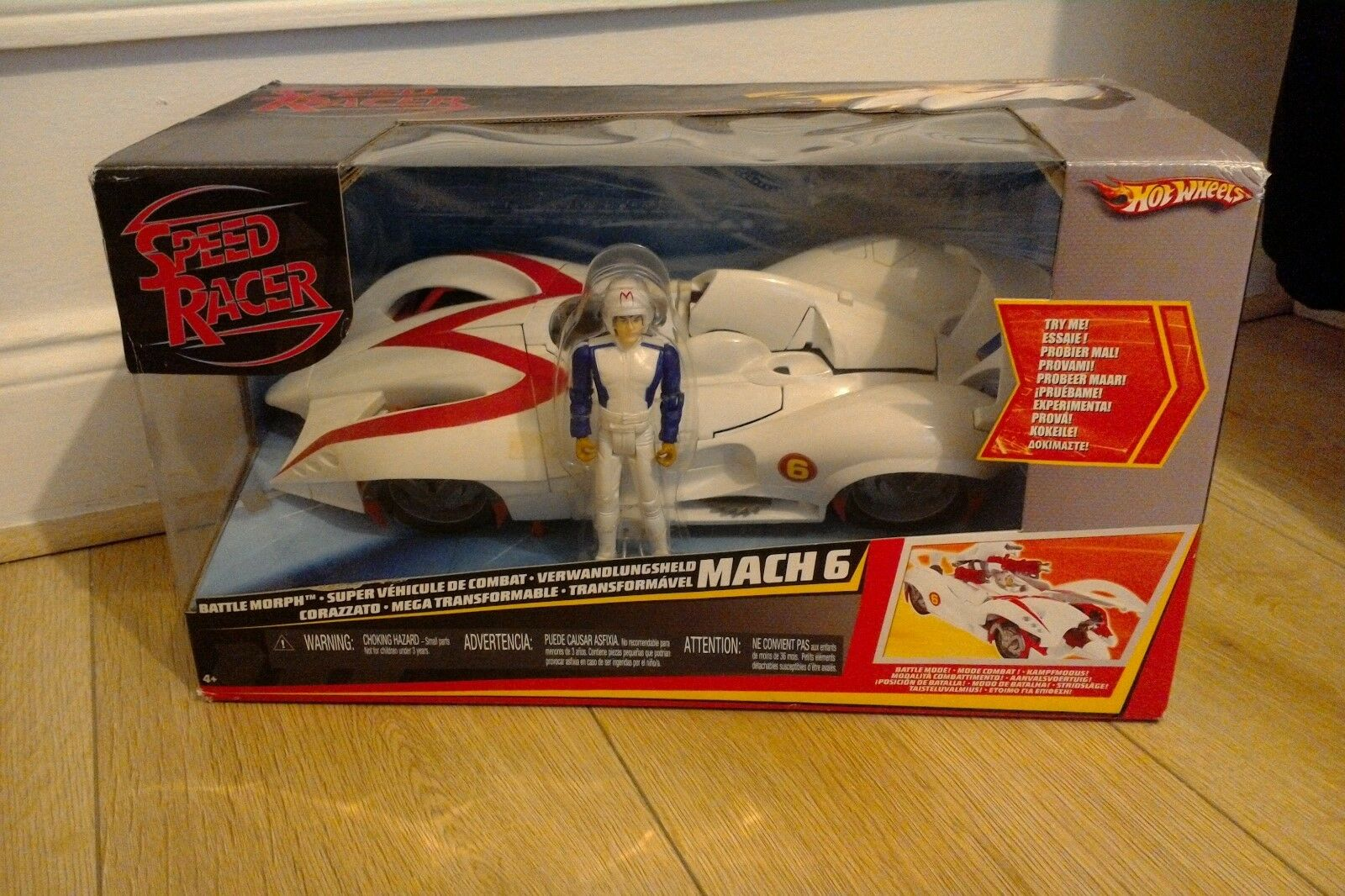 Hot Wheels Speed Racer Mach 6 6 6 184432