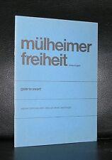 galerie Swart # MULHEIMER FREIHEIT # Dahn, Dokoupil a.o. 1982, mint-