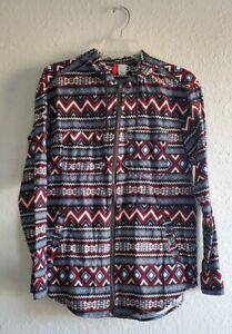 h&m divided zip hoodie