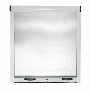 Zanzariera avvolgibile a rullo riducibile frizione porte finestre in kit bianco