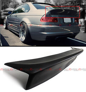 Details About Csl Style Duckbill Highkick Rear Trunk Spoiler Wing For 01 06 Bmw E46 Coupe M3