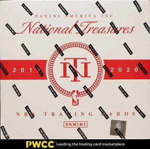 2019 Panini National Treasures Basketball Factory Sealed Box
