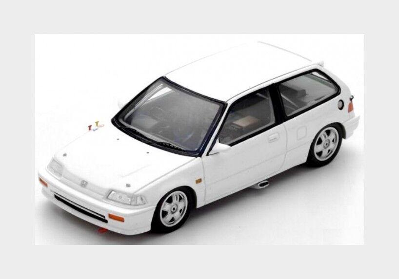 Honda Civic Ef3 Group A Gr.A 1988 White SPARK 1 43 S5458 Model
