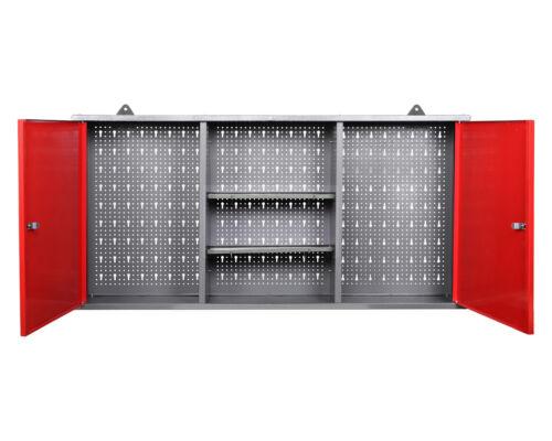 Ondis24 Werkstattschrank Werkzeugschrank Hängeschrank abschließbar Lochwand