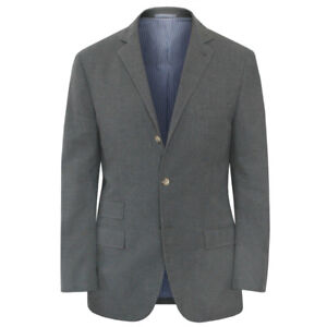 MICHAEL-BASTIAN-by-BRUNELLO-CUCINELLI-gray-cotton-blazer-sportcoat-jacket-42-52