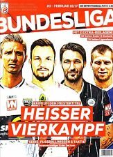 Bundesliga Journal Fruhjahr 2017 - Austria 2016/17 Half-Season Preview magazine