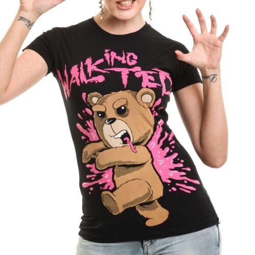 Walking Teddy Zombie Bär Cartoon Cupcake Cult Geek Cosplay Kawaii T-Shirt