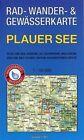Rad-, Wander- und Gewässerkarte Plauer See (2015, Mappe)
