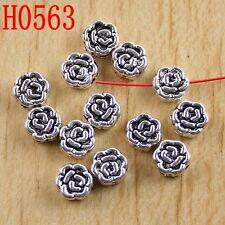 40pcs Tibetan silver butterfly spacer beads H2703