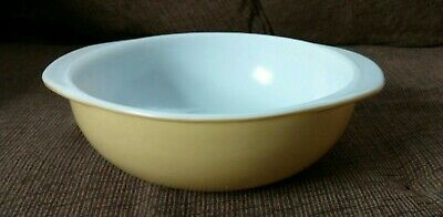 2 qt Pyrex Bowl Harvest Gold Casserole Mixing Bowl Vintage Pyrex Casserole Dish Pyrex Bowl