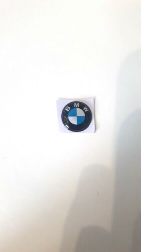 1pcs 3D 11mm Crystal Car logo Key Emblem button Sticker for BMW