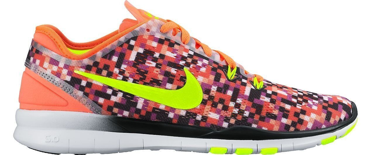 Nike Women's Free 5.0 TR Fit 5 Print TRAINING SHOES 704695 802 SIZE 11 (28CM)