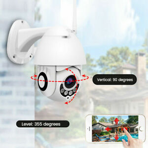 TELECAMERA-PTZ-1080P-FULL-HD-ESTERNA-IP-CAMERA-MOTORIZZATA-IR-WIFI-WEBCAM