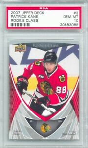 2007-08-Upper-Deck-Rookie-Class-Patrick-Kane-Rookie-Graded-PSA-10