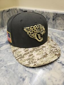 Image is loading Jacksonville-Jaguars-New-Era-59Fifty-NFL-2016-Salute- 693cab668
