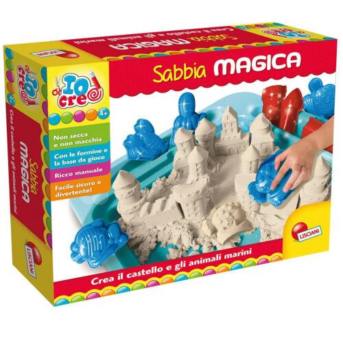 crea giochi e forme modella e disegna scatol Giochi di SABBIA MAGICA LISCIANI 3