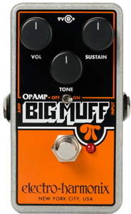 EHX Electro-Harmonix Op-Amp Big Muff Pi Distortion Sustain Guitar Effects Pedal