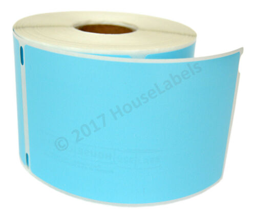 LOT 1-50 Rolls 300 Labels  REMOVABLE BLUE Labels for Dymo LabelWriters  LW 30256