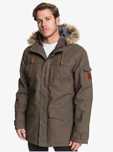 Quiksilver-Men-039-s-Storm-Drop-5K-Jacket-Crocodile