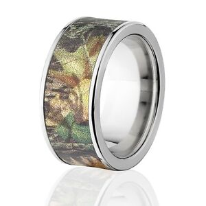 Camouflage Wedding Bands Mossy Oak Rings New Breakup Camo Bands