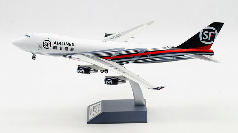 35CM 1 200 Inflight SF SF SF AIRLINES BOEING 747-400F Freighter Aircraft Diecast Model 590324