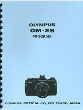 Olympus OM-2S Spot Program Service & Repair Manual