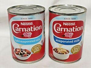 Latte-CONDENSATO-NESTLE-garofano-luce-o-interi-410g-TIN-dessert-Pudding-Topping