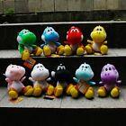 9Pcs/Set Super Mario Cute Soft Plush Doll Toy Colorful Yoshi 18CM 7