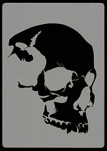 SKULL HEAD EVERYTHING AIRBRUSH STENCILS STENCIL 5