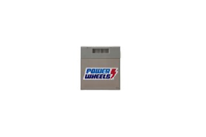 Replacement Power Wheels  12 Volt Battery  Grey NEW