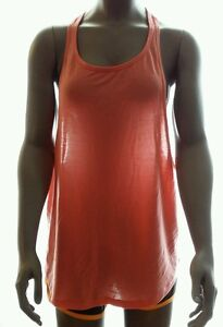 b1eab5390e63 NIKE Womens Dri-Fit Club Training Tank Top Coral Size M L Style ...