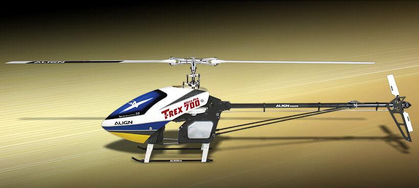 T-Rex 700 Nitro 3G sólo marco con Blades