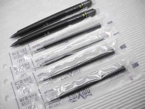 2 PEN+4 REFILLS PILOT Erasable FriXion 0.5mm roller ball pen Pink