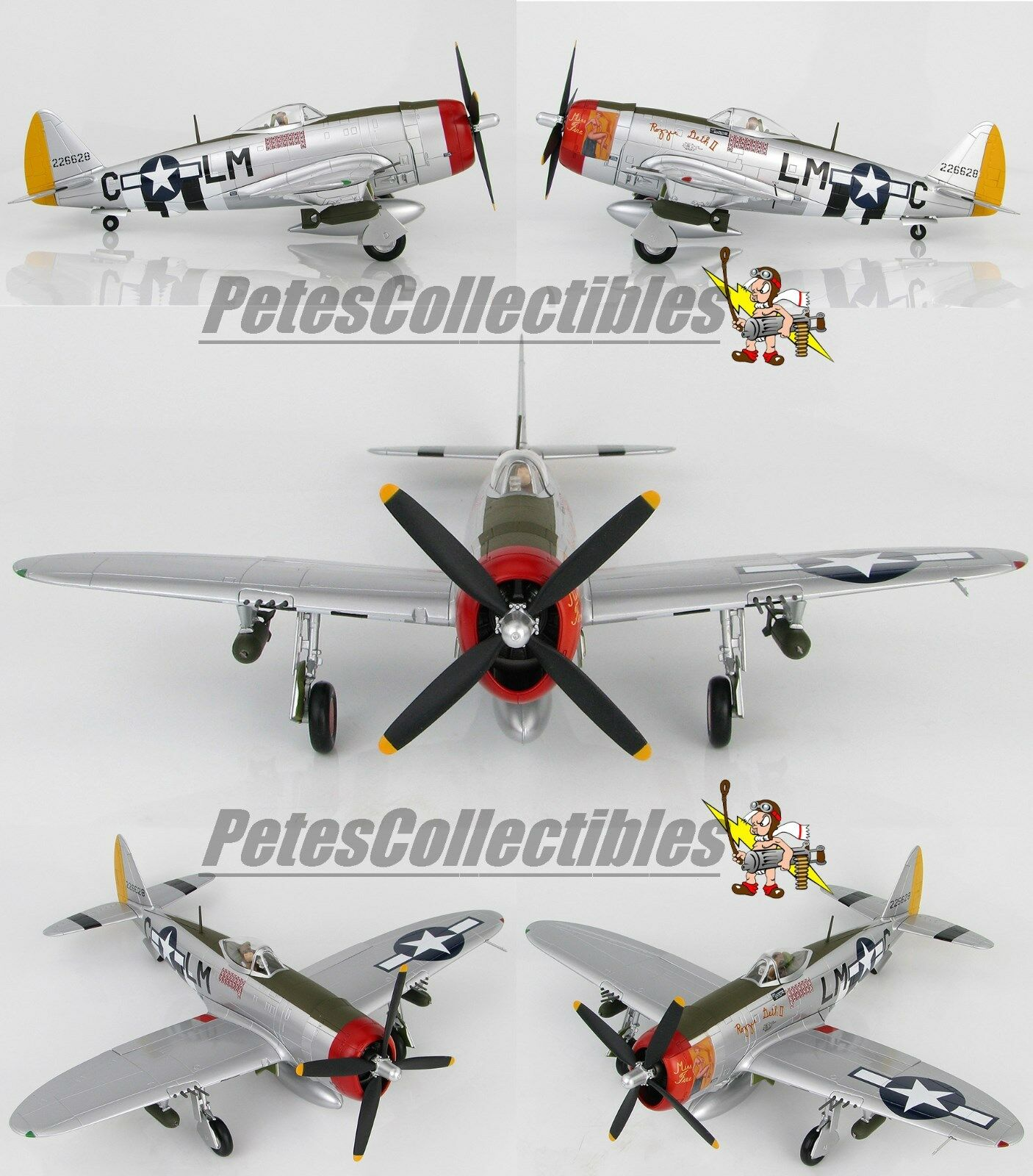 Hobby Master HA842 P -47D Rozzie Geth II  Miss Fire Fröd Christensen USAAF 56th