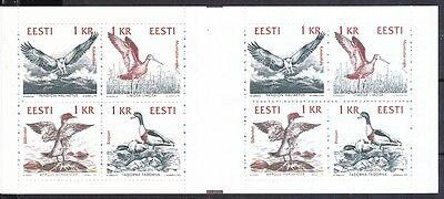 Estland 1992 Postfrisch Markenheft Minr. 1 Vögel Gute QualitäT