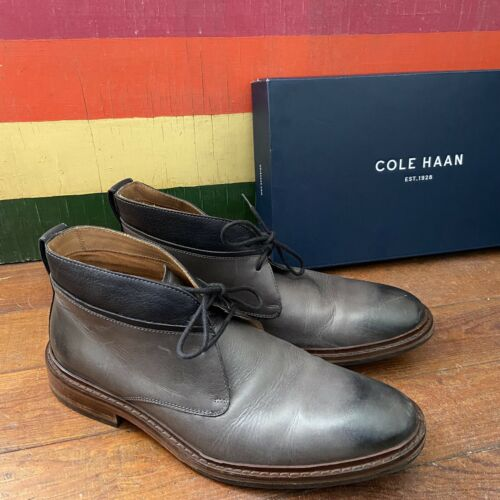 Cole Haan Williams Chukka Boot II Pavement Gray  L