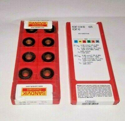 Sandvik RCMT 08 03 M0 IC=8.0 4225-1 Factory pack 10pcs
