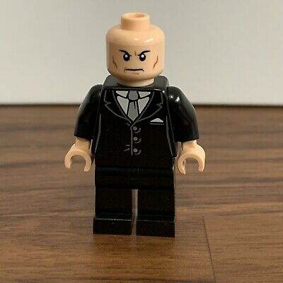 Lego Lex Luthor Minifigure from Set 6862 Superman Super Heroes NEW sh012