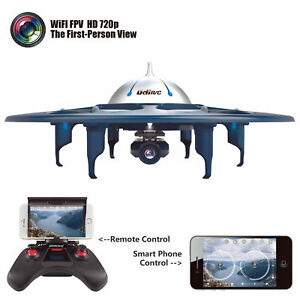 UDI-U845-Telephone-Remote-Control-WiFi-FPV2-4G-RC-Quadcopter-Drone-UFO-HD-Camera
