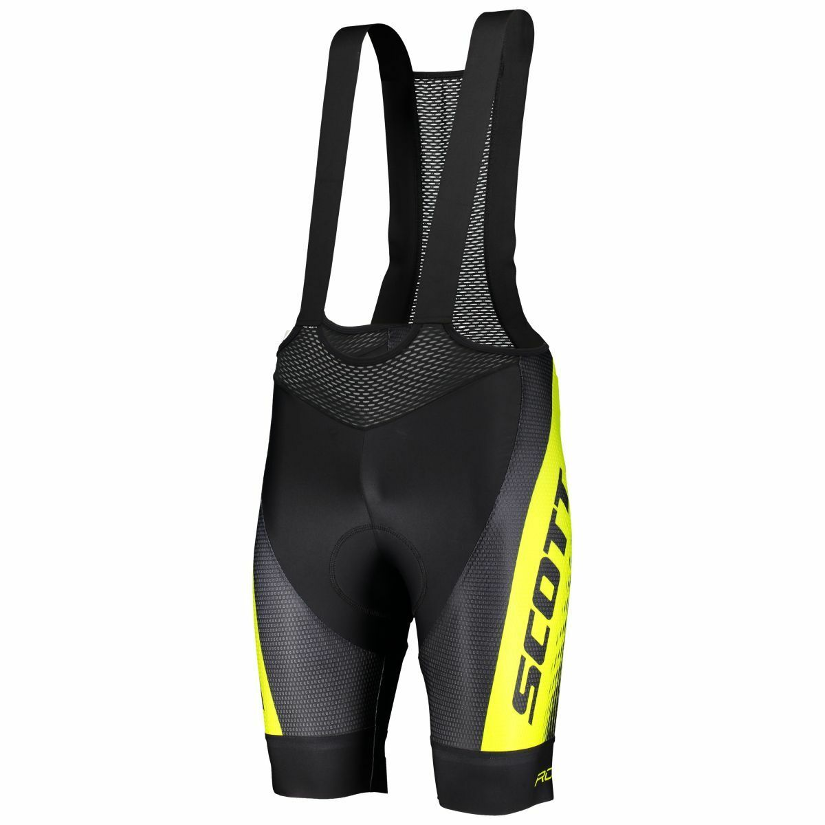 Scott RC Pro +++ Fahrrad Trägerhose kurz schwarz gelb 2019