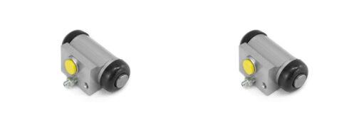 2 x Radbremszylinder HA für CITROEN SAXO,XSARA; PEUGEOT 106 II,206,306