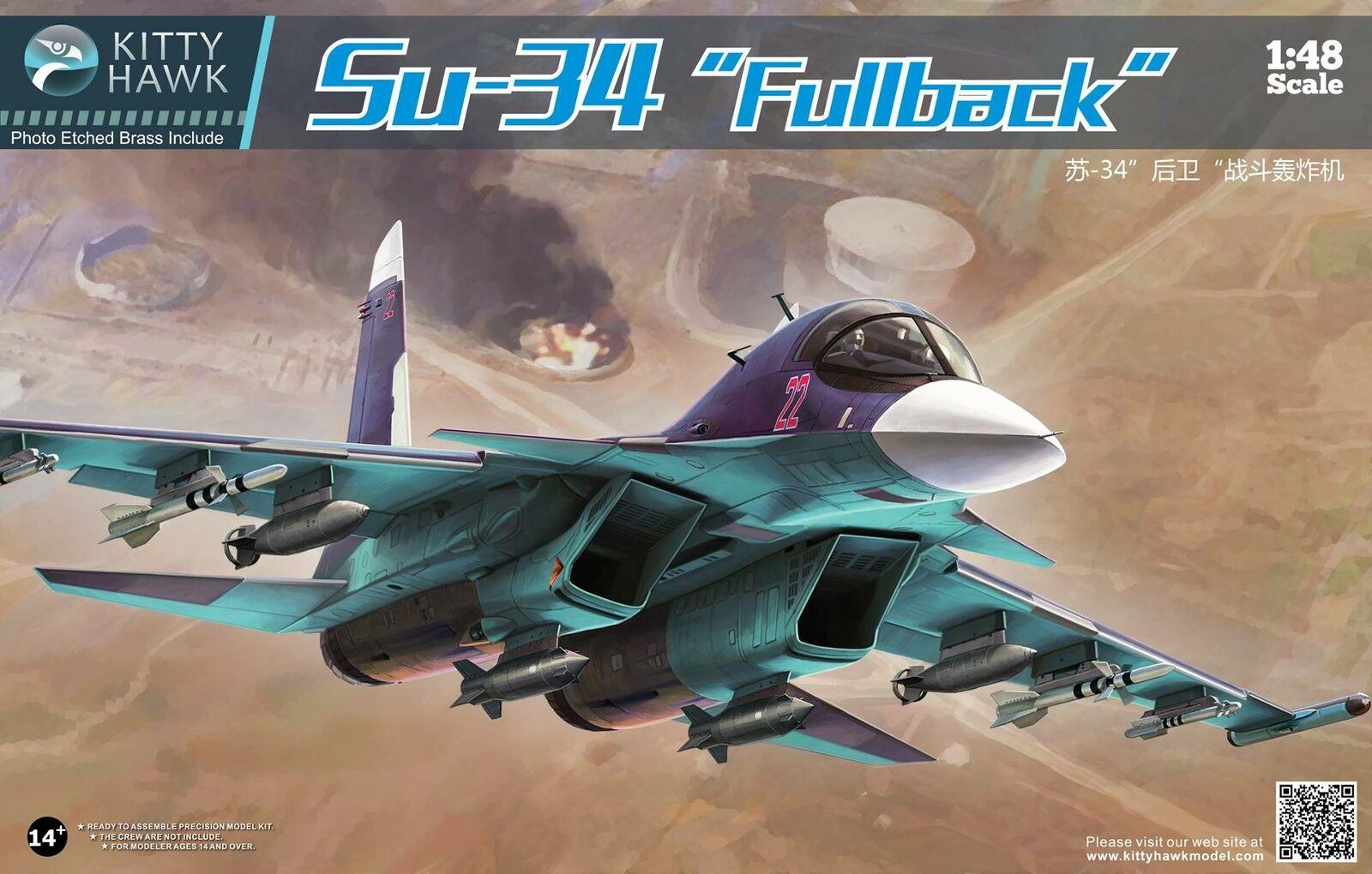 Academy KH80141 SU-34 Fullback Bausatz 1 48