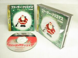 FATHER-CHRISTMAS-Item-ref-bbc-Sega-Saturn-Import-Japan-Game-ss