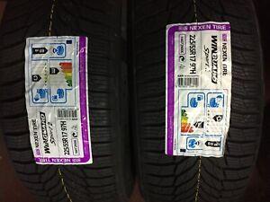 2-X-Nouveau-225-55-17-NEXEN-WINGUARD-SPORT-2-SUV-pneus-225-55-R17-97-H-DOT-2919