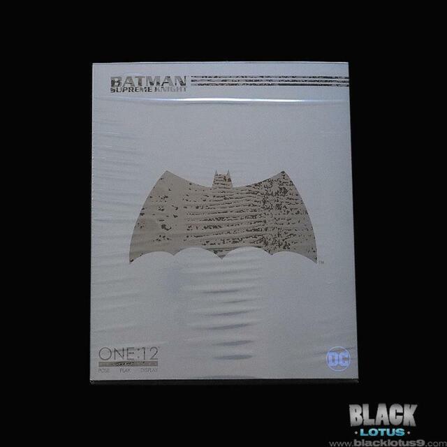 Mezco Toyz Batman Supreme Knight DC Comics Black Suit One:12 Collective IN STOCK