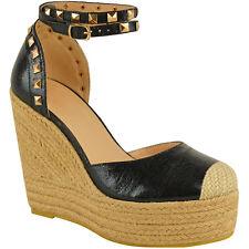 8aa8d949f059 item 5 Womens Ladies Studded Wedge Sandal Rock Espadrille Platform Summer  Party Shoes -Womens Ladies Studded Wedge Sandal Rock Espadrille Platform  Summer ...