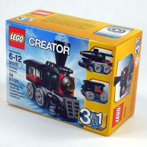 LEGO 31015 Creator Emerald Express NEW in Factory Sealed Box