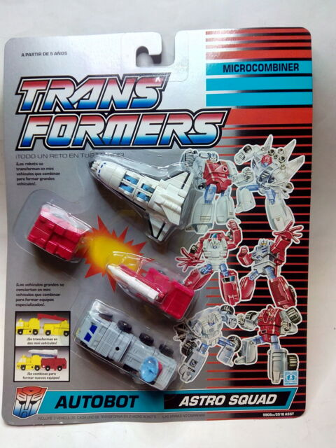 TRANSFORMERS ASTRO SQUAD - Microcombiner - Autobot-  *** NEW*** SEALED